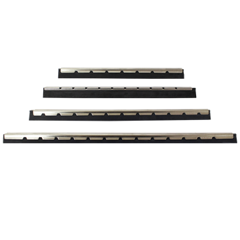 Stainless Steel Channels with Rubber Blades