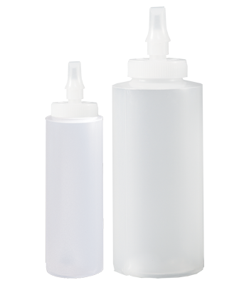 Cylinder Bottles with Ribbon Applicator