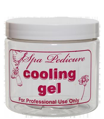 """16 oz. """"Cooling Gel"""" Jar with Lid"""
