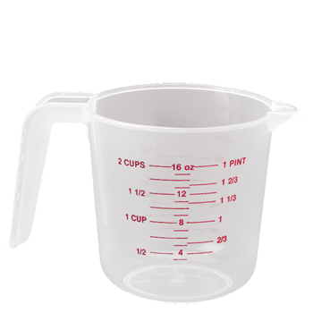Rounded Measuring Cup