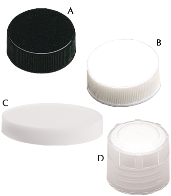 Polypropylene Closures (Lined)