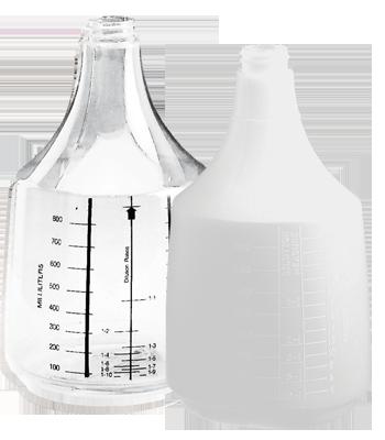 Mega Round Bottles