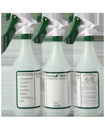 Green Check 3 Pack EcoChoice Bottles