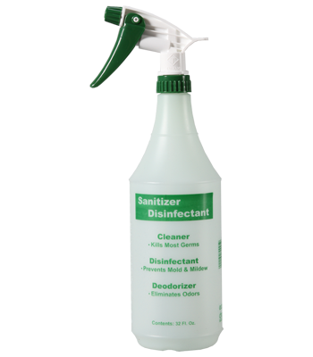 32 oz. EcoChoice Spa Sanitizer Disinfectant Bottle