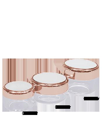 Gold Rim Jars