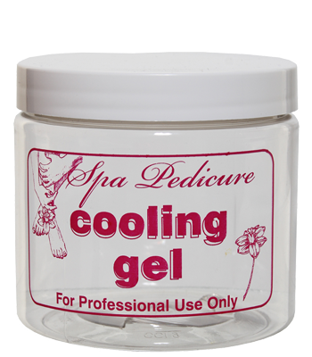 "16 oz. ""Cooling Gel"" Jar with Lid"