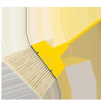 Large Flagged Angle Broom