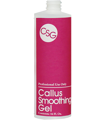 Callus Smoothing Gel Bottle