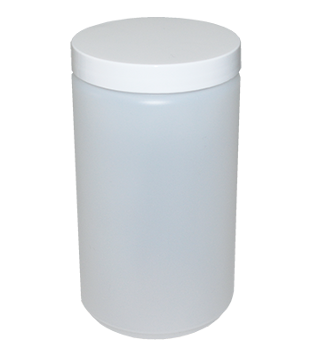24 oz. Frosted Jar with Lid